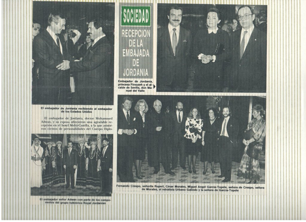 1985 MJC- EMBAJADORES JORDANIA