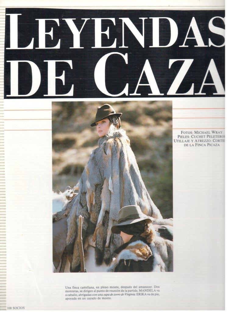 1987 LEYENDAS DE CAZA