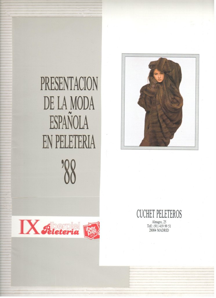 1988 CUCHET..PRESENTA